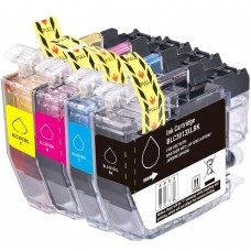 COMBO BROTHER LC3011/LC3013 BK/C/M/Y XL COMPATIBLE INKJET BLACK/C/M/Y CARTRIDGE