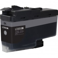 BROTHER LC3035BK XXL COMPATIBLE INKJET BLACK CARTRIDGE ULTRA HIGH YIELD