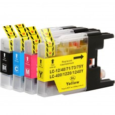 COMBO BROTHER LC71/LC75/77/79 BK/C/M/Y XL COMPATIBLE INKJET BLACK/C/M/Y CARTRIDGE