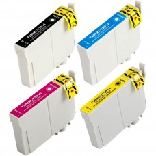 COMBO EPSON T200 BK/C/M/Y XL COMPATIBLE INKJET BLACK/C/M/Y CARTRIDGE