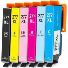COMBO EPSON T277 BK/C/M/Y/LC/LM XL COMPATIBLE INKJET BLACK/C/M/Y/LC/LM CARTRIDGE