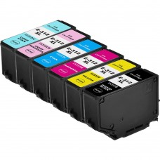 COMBO EPSON T312XL BK/C/M/Y/LC/LM COMPATIBLE INKJET BLACK/C/M/Y/LC/LM CARTRIDGE HIGH YIELD