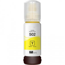 EPSON T502 COMPATIBLE YELLOW INK BOTTLE