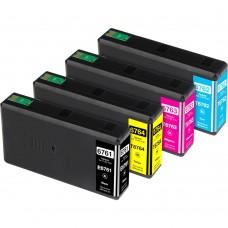 COMBO EPSON T676 BK/C/M/Y XL COMPATIBLE INKJET BLACK/C/M/Y CARTRIDGE