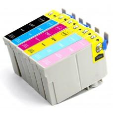 COMBO EPSON T078 BK/C/M/Y/LC/LM XL COMPATIBLE INKJET BLACK/C/M/Y/LC/LM CARTRIDGE