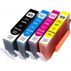 COMBO HP920 BK/C/M/Y XL COMPATIBLE INKJET BLACK/C/M/Y CARTRIDGE