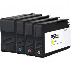 COMBO HP950/HP951 BK/C/M/Y XL COMPATIBLE INKJET BLACK/C/M/Y CARTRIDGE