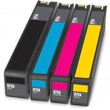 COMBO HP972A BK/C/M/Y RECYCLED INKJET BLACK/C/M/Y CARTRIDGE