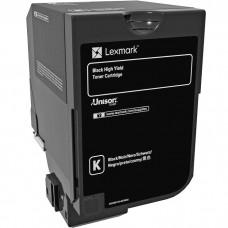 LEXMARK 74C0H10 LASER ORIGINAL BLACK TONER CARTRIDGE