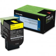 LEXMARK 78C1XY0 LASER XL ORIGINAL YELLOW TONER CARTRIDGE