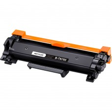 BROTHER TN760 LASER RECYCLED BLACK TONER CARTRIDGE