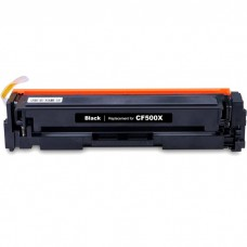 HP202X CF500X LASER RECYCLED BLACK TONER CARTRIDGE