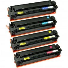 COMBO HP204A BK/C/M/Y LASER COMPATIBLE TONER BLACK/C/M/Y CARTRIDGE