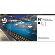 HP981Y L0R16A ORIGINAL INKJET BLACK CARTRIDGE EXTRA HIGH YIELD