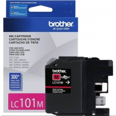 BROTHER LC101M ORIGINAL INKJET MAGENTA CARTRIDGE