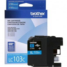 BROTHER LC103C ORIGINAL INKJET CYAN CARTRIDGE