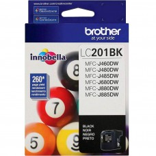 BROTHER LC201BK ORIGINAL INKJET BLACK CARTRIDGE