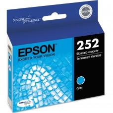 EPSON 252XL T252220XL COMPATIBLE INKJET CYAN CARTRIDGE