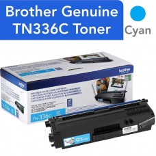 BROTHER TN336C LASER ORIGINAL CYAN TONER CARTRIDGE