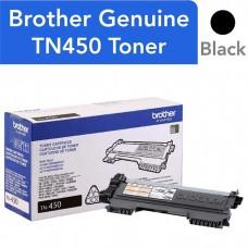 BROTHER TN450 LASER ORIGINAL BLACK TONER CARTRIDGE