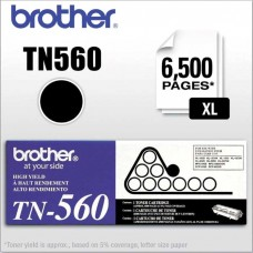 BROTHER TN560 LASER ORIGINAL BLACK TONER CARTRIDGE