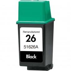 HP26 51626A RECYCLED BLACK INKJET CARTRIDGE