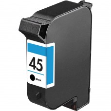 HP45 51645A RECYCLED BLACK INKJET CARTRIDGE