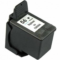 HP56 C6656AN RECYCLED BLACK INKJET CARTRIDGE