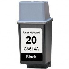 HP20 C6614A RECYCLED BLACK INKJET CARTRIDGE