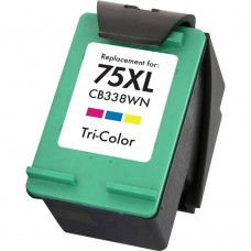 HP75XL CB338WC RECYCLED COLOR INKJET CARTRIDGE