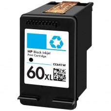 HP60XL CC641WN RECYCLED BLACK INKJET CARTRIDGE