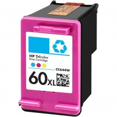 HP60XL CC644WN RECYCLED COLOR INKJET CARTRIDGE