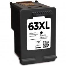 HP63XL F6U64AN RECYCLED BLACK INKJET CARTRIDGE