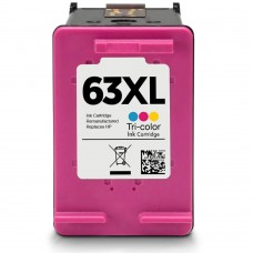 HP63XL F6U63AN RECYCLED COLOR INKJET CARTRIDGE