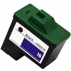 LEXMARK 10N0016 (16) RECYCLED BLACK INKJET CARTRIDGE