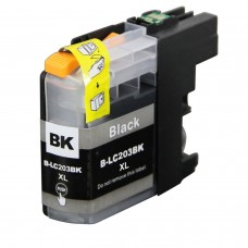 BROTHER LC201BK/LC203BK XL COMPATIBLE INKJET BLACK CARTRIDGE