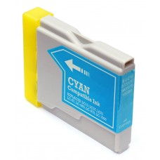 BROTHER LC51C COMPATIBLE INKJET CYAN CARTRIDGE
