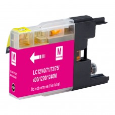 BROTHER LC71M/LC75M XL COMPATIBLE INKJET MAGENTA CARTRIDGE