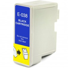 EPSON T038120 T038 COMPATIBLE INKJET BLACK CARTRIDGE