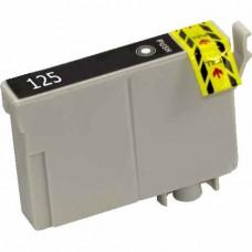 EPSON 125 T125120 COMPATIBLE INKJET BLACK CARTRIDGE