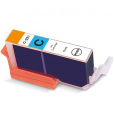 CANON CLI-221C COMPATIBLE INKJET CYAN CARTRIDGE