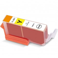 CANON CLI-221Y COMPATIBLE INKJET YELLOW CARTRIDGE