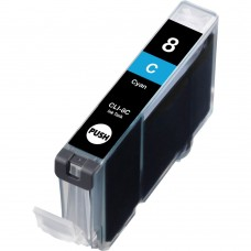 CANON CLI-8C COMPATIBLE INKJET CYAN CARTRIDGE