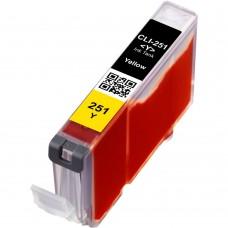 CANON CLI-251XLY COMPATIBLE INKJET YELLOW CARTRIDGE