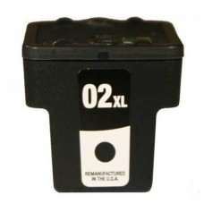 HP02XL C8721WC COMPATIBLE INKJET BLACK CARTRIDGE