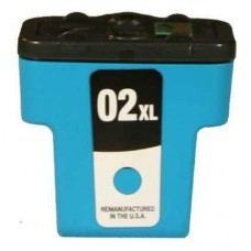 HP02XL C8771WC COMPATIBLE INKJET CYAN CARTRIDGE