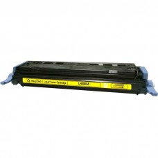 HP124A Q6002A LASER RECYCLED YELLOW TONER CARTRIDGE