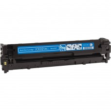 HP128A CE321A LASER RECYCLED CYAN TONER CARTRIDGE