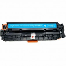 HP305A CE411A LASER RECYCLED CYAN TONER CARTRIDGE