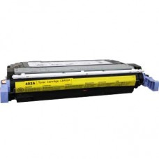 HP642A CB402A LASER RECYCLED YELLOW TONER CARTRIDGE